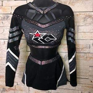 All Star Competition Cheerleading Uniform Size AM